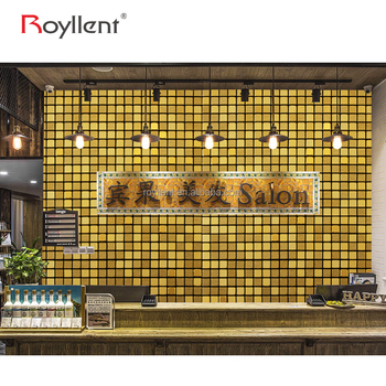 Royllent wall peel and stick backsplash mosaic tiles for kitchen deco