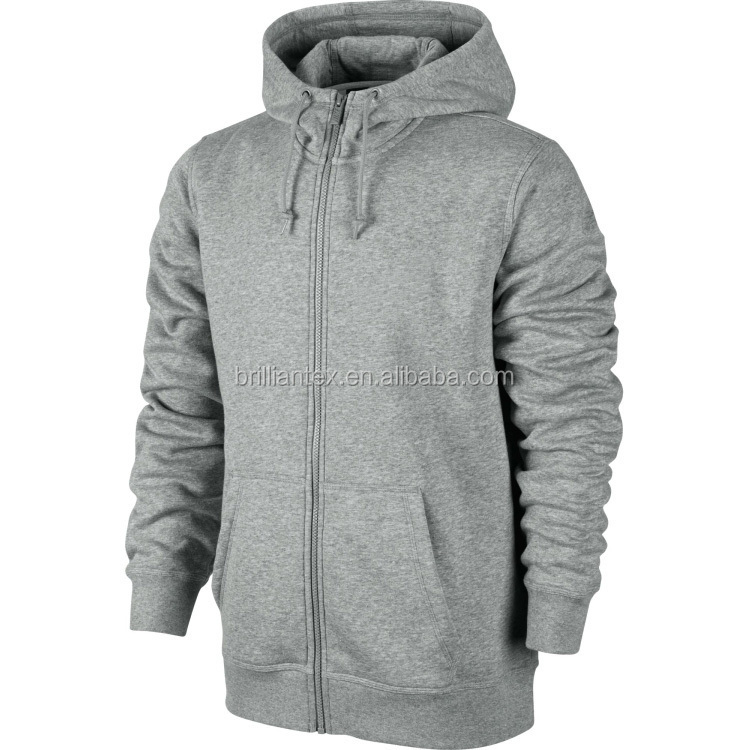 Wholesale Charcoal Thick Hoodies Men's Plain Muscle Fit Hoodies and Sweatshirts At Wholesale Price