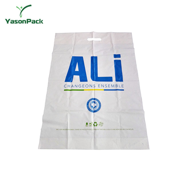 100% biodegradable wholesale Heat Seal handle plastic new shopping bag