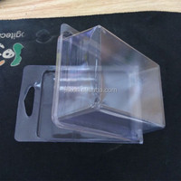 Custom electronics product double blister clamshell packaging