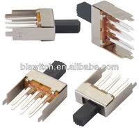3 positions hair dryer slide switch,3 Way Slide Switch,slide switch