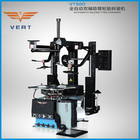 VERT Strong car workshop tools and equipments tyre repairing machine with two helper arms