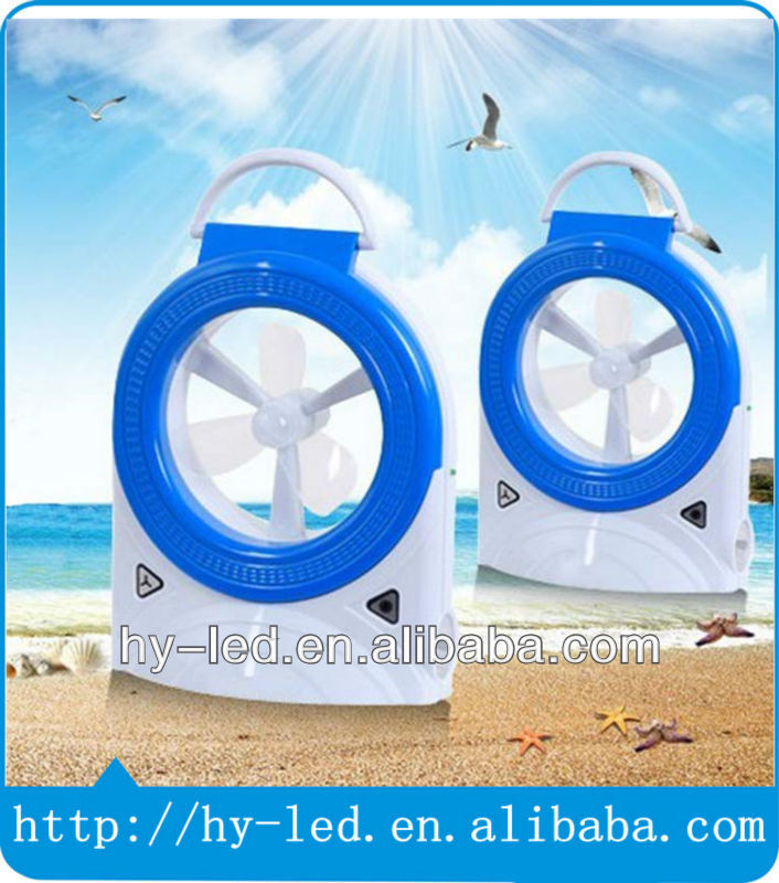 emergency led lamp &rechargeable led light with fan