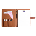 Name card holder leather case letter shaped meno pads with custom logo