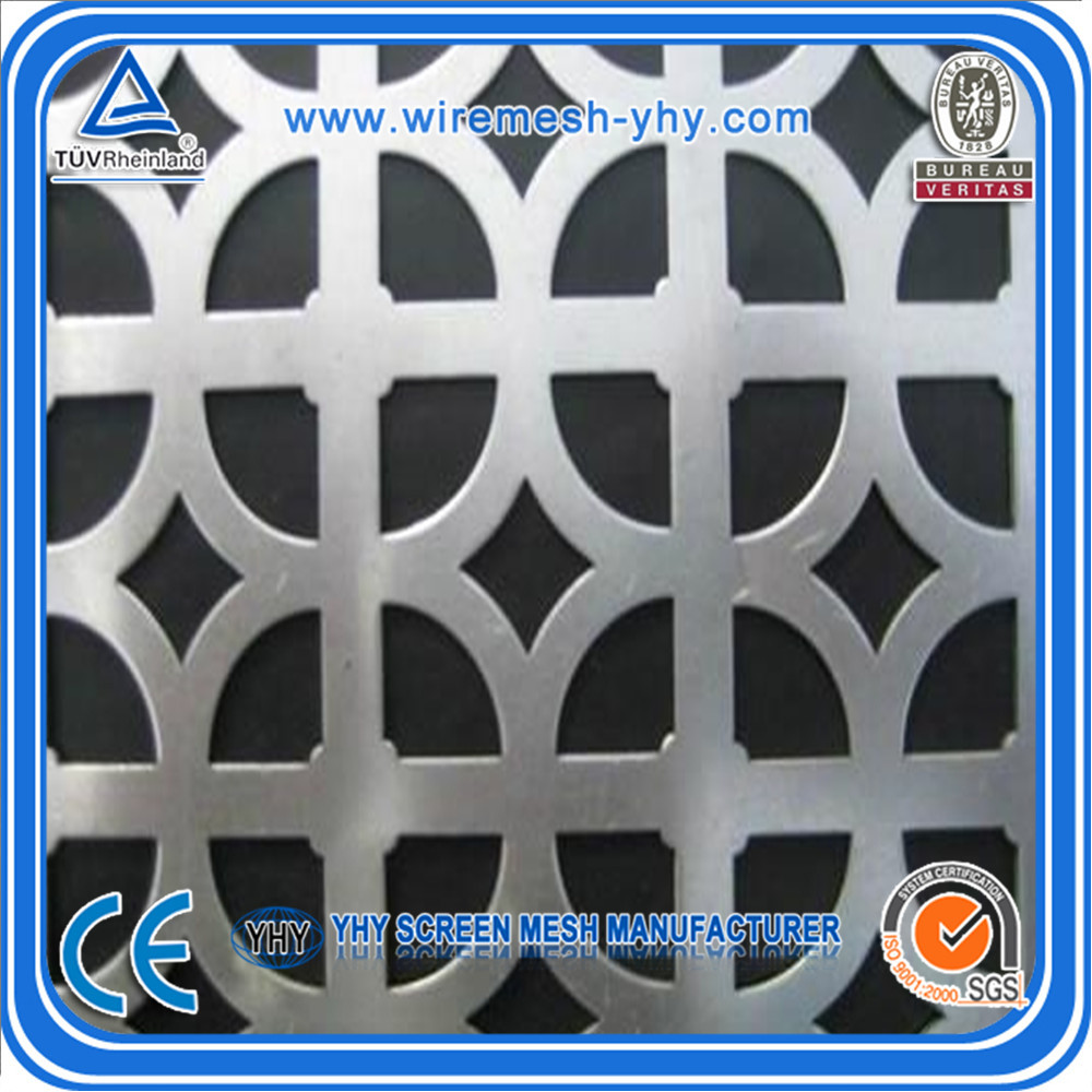 outside building decoration aluminum perforated metal mesh expaneded metal mesh