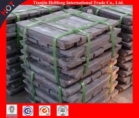 Factory suply raw metal ore zinc ingot 99.995 with low price