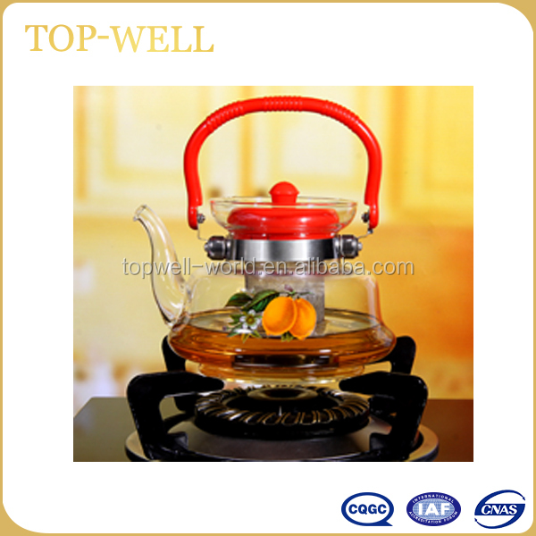 Cheap tea set arabic glass coffee pot made in china
