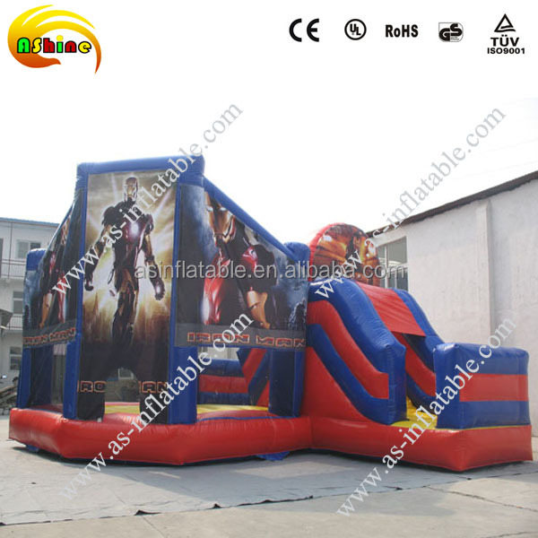 EN14960 best quality giant spiderman inflatable jumping slide,inflatable jumping bouncer,inflatable trampolines for sale