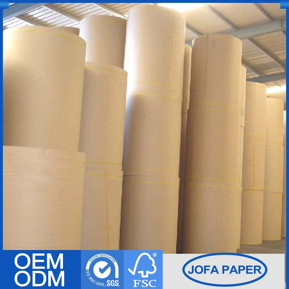Factory Price Recycled Kraft Paper In Roll