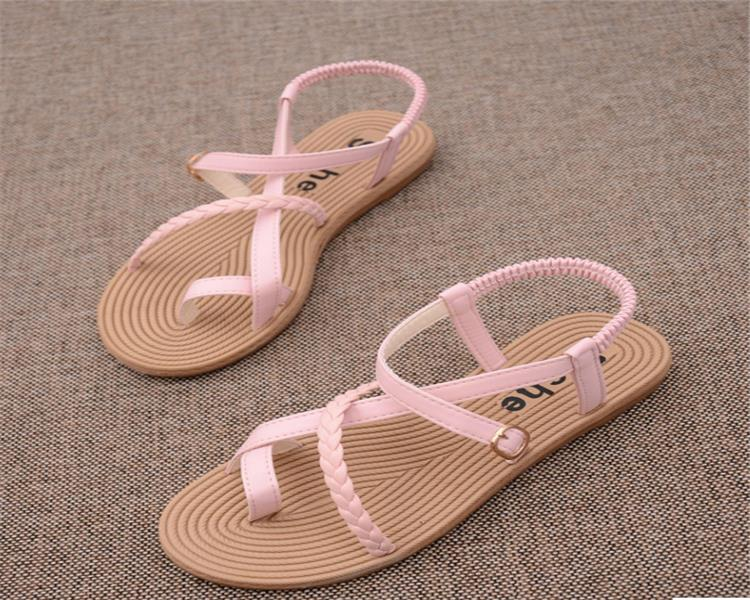 sex girl indian sex photo flat summer sandals 2017 simple design ladies fancy flat sandal Plastic flat sandals for girls China