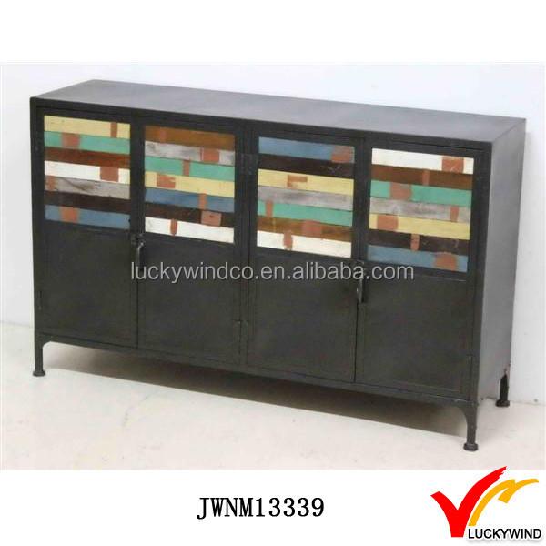 Black Vintage Industrial Metal Sideboard Buffet Table - Buy Sideboard Table, Sideboard Buffet Table Product on Alibaba.com - Black Vintage Industrial Metal Sideboard Buffet Table - Buy