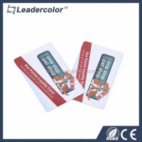 Factory Credit card size full color printing contactless RFID smart card