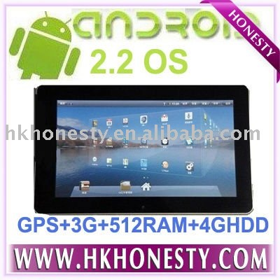 New Flying Touch super pad III Google Android 2.2 10.1 inch 6000mAh Battery infomix ix220 1GHz Tablet PC