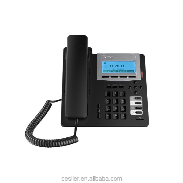 conference phone NSN835 VOIP phone SIP account 2 line IP phone