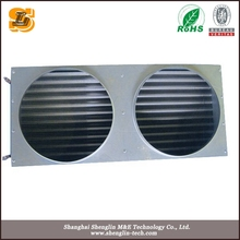 copper tube bule fin air conditioning heat exchanger