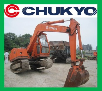Japanese Used Excavator For Sale Hitachi UH 02 <SOLD OUT>/ Steel shoe