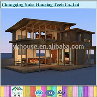 Strong steel frame prefab japanese houses for sale
