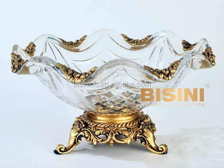 luxury brass with crystal home decoration trophy flower crystal perfume bottle luxury crystal perfume bottle hand