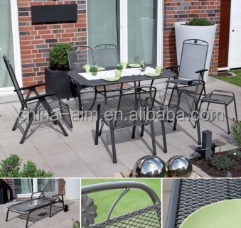 Good quality expended metal Mesh for garden chairs