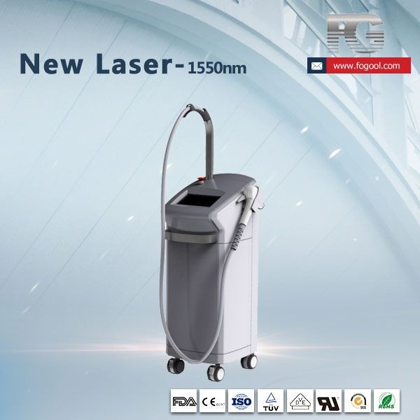 Er glass laser 1550nm facial treatment laser 1550nm acne scar removal