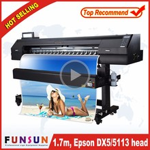 Best price Funsunjet FS1700K 5ft/6ft 3d iphone case sublimation printing machine with 5113 head transfer paper printing machine