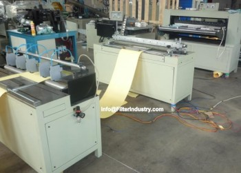 Knife Pleating Machine Production Line for making automotive filters