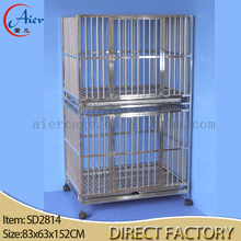 stainless steel cages for dogs outdoor dog kennels