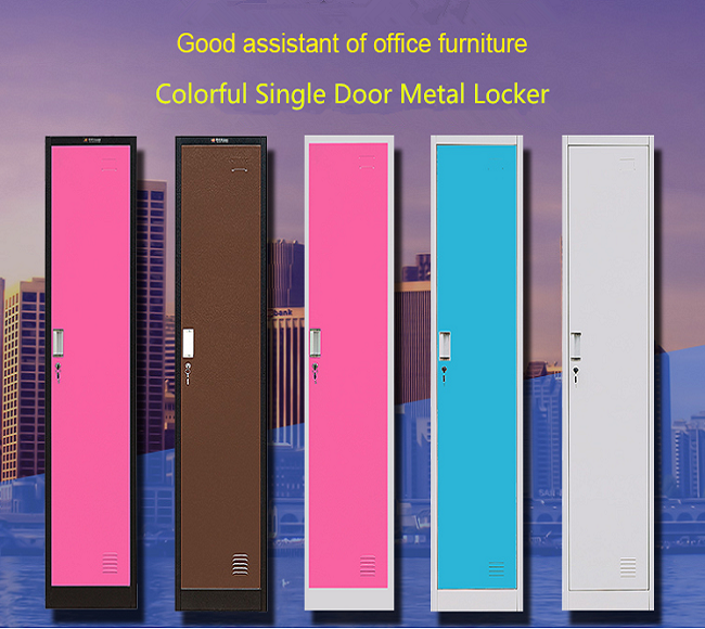 High quality colorful steel locker cabinet school funiture
