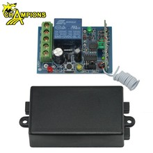 433Mhz Universal Wireless Remote Control Switch DC12V 10A 1CH relay Receiver Module and RF Transmitter 433 Mhz Remote Control