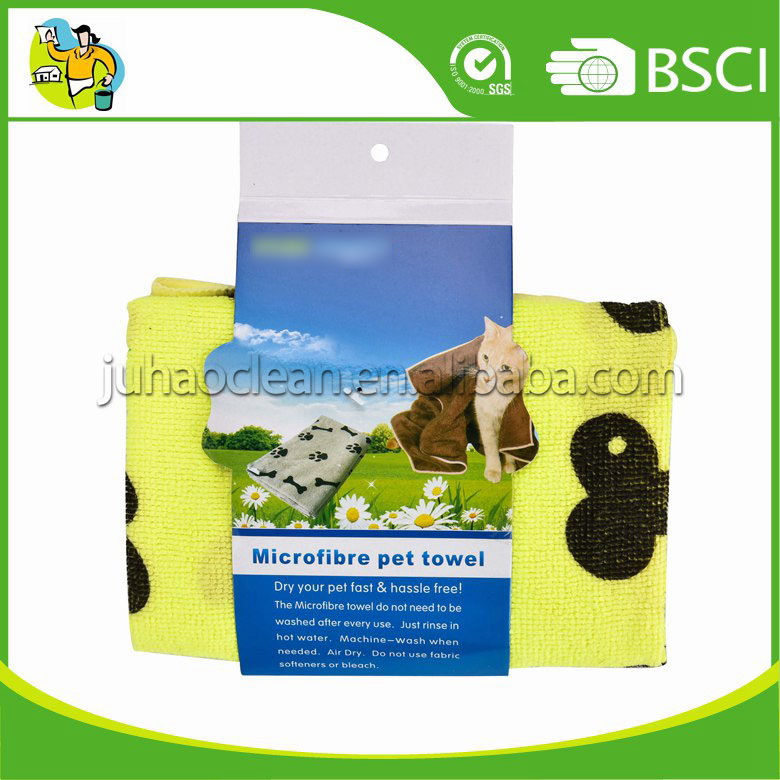 Durable Quality Microfiber Pet Cleaning Towel