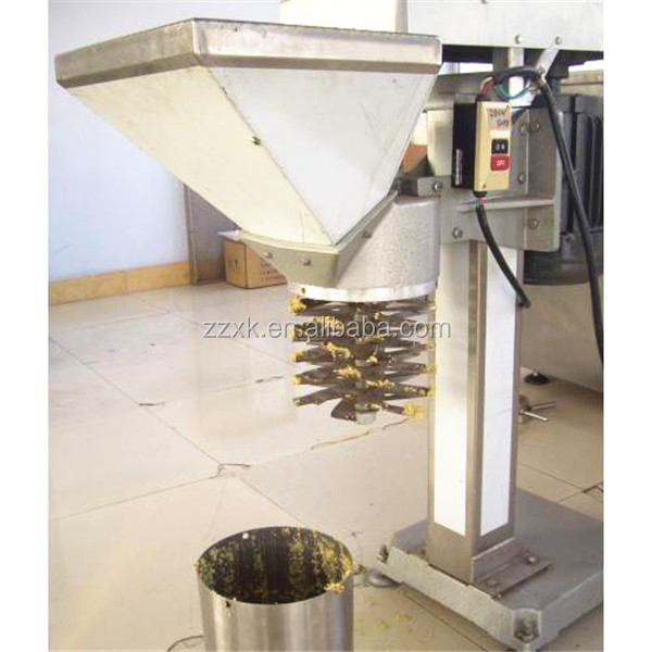 Stainless steel onion shredding machine