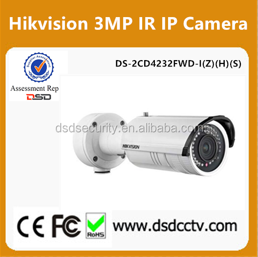 Hikvision 3MP WDR IR Bullet Camera DS-2CD4232FWD-I(Z)(H)(S)