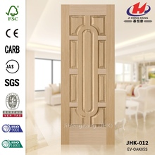 JHK-012 Cheap and High Quality Use for Office Engineered White Oak Veneer Oval Door Panel