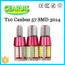 T10 280MA 5w5 bulbs led light,t10 led bulbs,W5W led smd 3014 Canbus 57 SMD led bulb 12 Volt