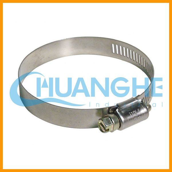 Low price stainless steel pole mounting hose clamp