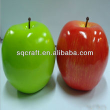 Artificial Green Washington Apple Large - Plastic Decorative Fruit Apples