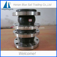 Single Ball Flanged Neoprene Galvanized Flexible Rubber Expansion Joint