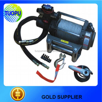 China auto atv winch 12v electric used hydraulic winch for sale