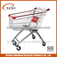 125L supermarket cart for shopping