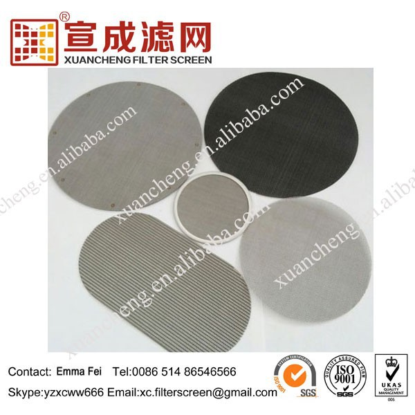 Filter Used Wire Mesh for Rubber and Plastics