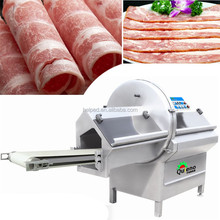 Meat slicer machine for sausage production line