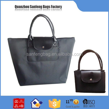 Wholesale in china nylon foldable shopping bag , shopping bag , folding shopping bag