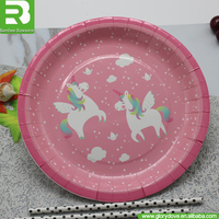 2017 China Hot wholesale disposable cheap bulk dinner plates