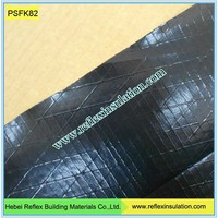 Pipe Insulation Facings Black Fire Resistant