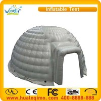 hot sale outdoor white inflatable igloo tent, inflatable igloo for sale