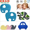 animal teether/2014Chewable Silicone Teething Toys&Pendent animal teether
