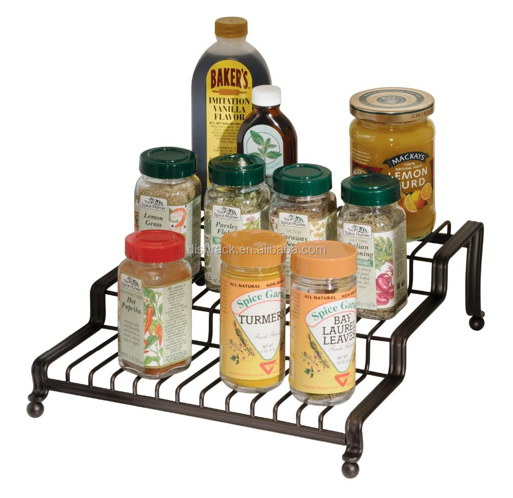 Kitchen Accessories Container Homes Haisong Metal Floor Spice Rack