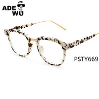ADE WU Fashion calssical new model brand style special optical frame
