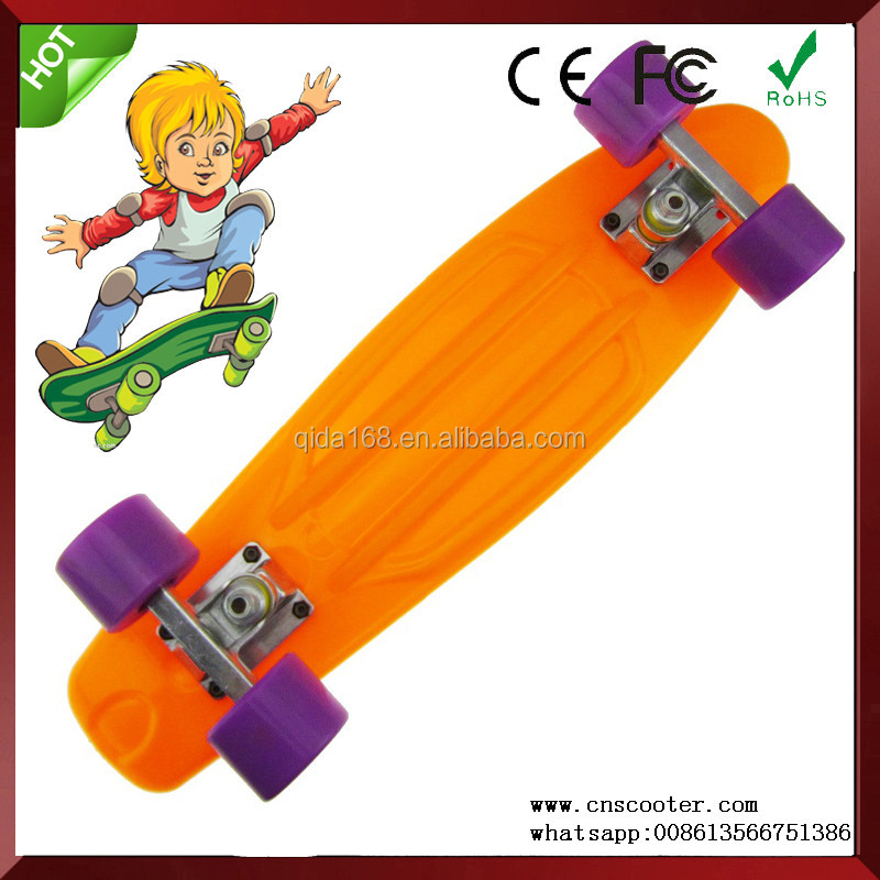 Top sale cheapest high strength plastic molded hot sale skateboard