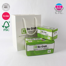 Custom packaging & printing paper packing box and shopping bag